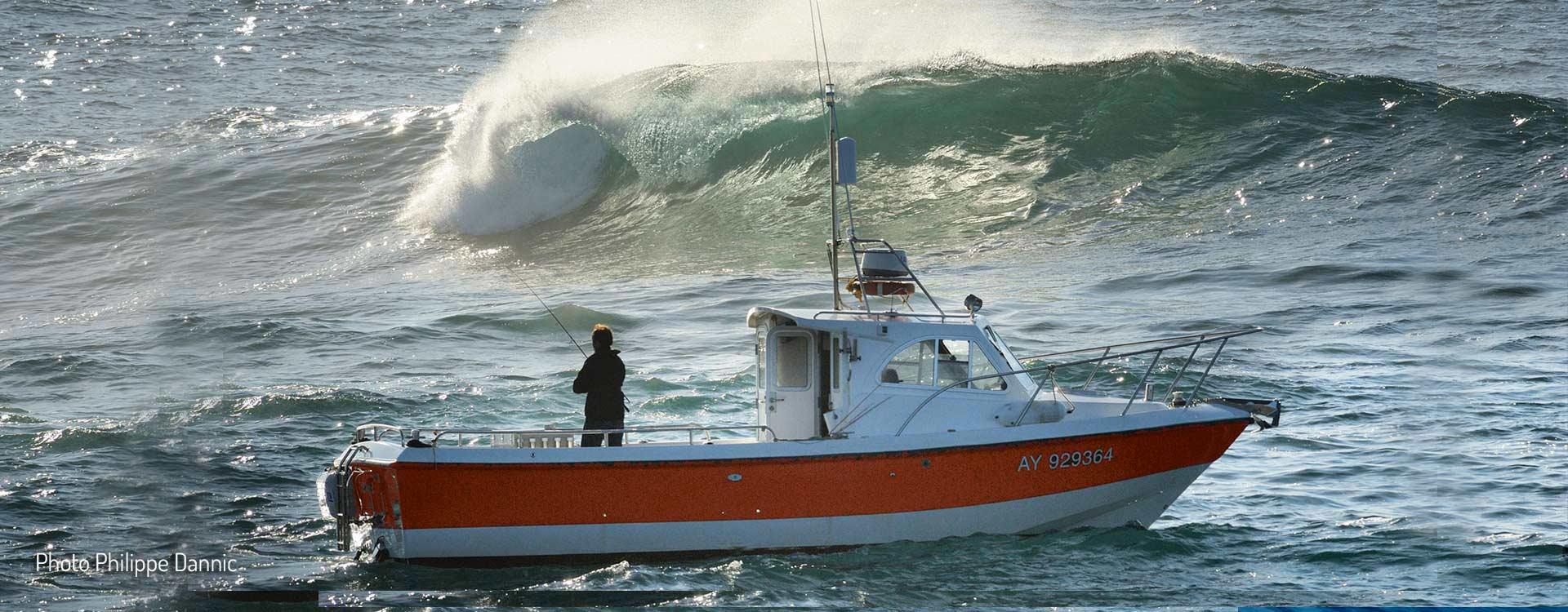 Célèbre Guide Pêche Bretagne, Pêche au Bar et Thon Belle-île en Mer WI94