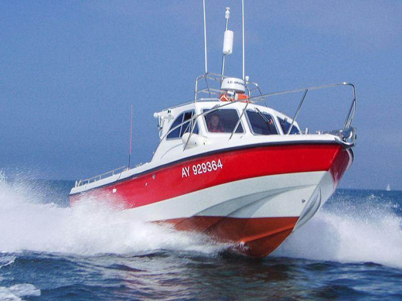 Image De Bateau sorties de pêche en bateau à belle-île en mer en bretagne.